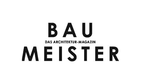 Logo: Baumeister, Architektur-Magazin. Kunde von William Veder | Eventfotografie in Berlin