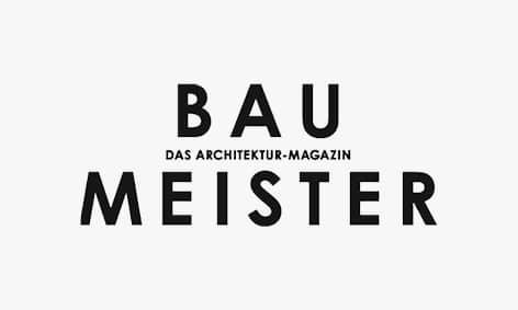Logo: Baumeister, Architektur-Magazin.