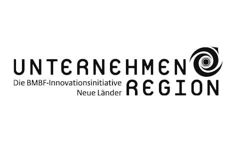 Logo: Unternehmen Region, Die BMBF-Innovationsinitiative Neue Länder. Kunde von William Veder | Eventfotografie in Berlin