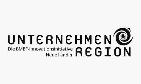 Logo: Unternehmen Region, Die BMBF-Innovationsinitiative Neue Länder.