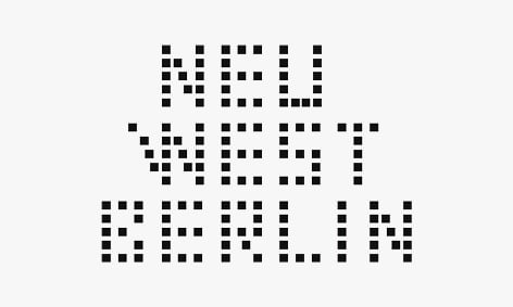 Logo: Neu West Berlin, Veranstaltungsort – Berlin.