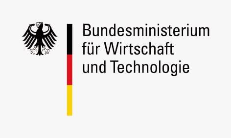 Logo: Bundesministerium für Wirtschaft und Technologie.