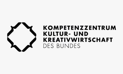 Logo: Kompetenzzentrum Kultur- und Kreativwirtschaft.