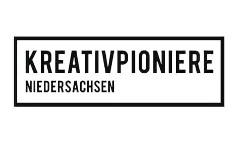 Logo: Kreativpioniere Niedersachsen. Kunde von William Veder | Eventfotografie in Berlin