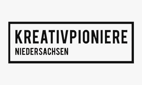 Logo: Kreativpioniere Niedersachsen.